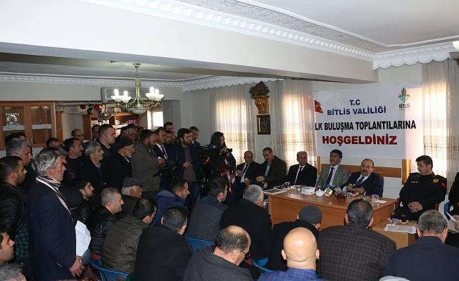 Başkan Vekili Ustaoğlu, Halk Toplantılarına Devam Ediyor