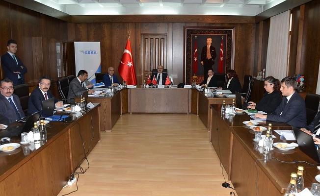 GEKA 104.Yönetim Kurulu Toplantısı Aydın'da Yapıldı