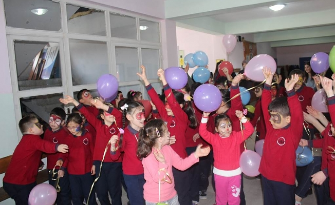 """""""İlmek İlmek Mutluluk Projesi"""" Kozcağız Sülek İlkokulunda"""