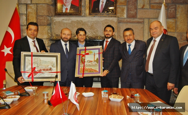 Konyalı iş adamları Seydişehir'de buluştu