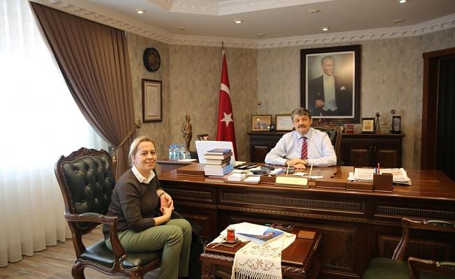 NİHAN TANER'DEN CEMAL AKIN'A ZİYARET