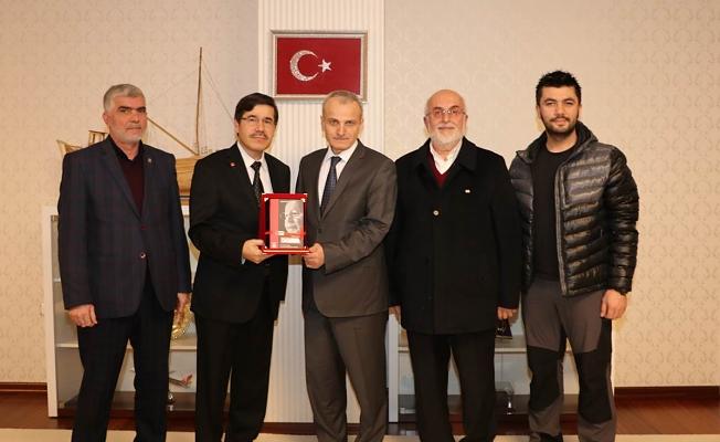 Saadet Partisi Yeni İl Yönetiminden Vali DİRİM'e Ziyaret