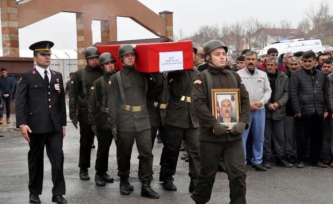 Şehit Güvenlik Korucusu Sedat Aktaş, son yolculuğuna uğurlandı.