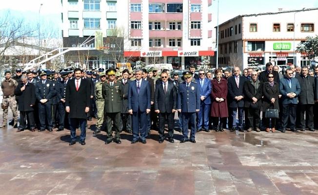 Türk Polis Teşkilatı'nın 172'nci kuruluş yıl dönümü ve Polis Haftası, düzenlenen törenle kutlandı.