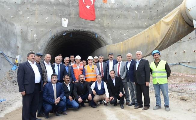 Ulaştırma Denizcilik ve Haberleşme Bakanımız Sayın Ahmet Arslan, İlimizi Ziyareti etti.