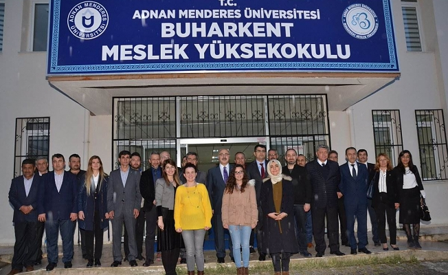 Valimiz Yavuz Selim Köşger Buharkent İlçesini Ziyaret Etti