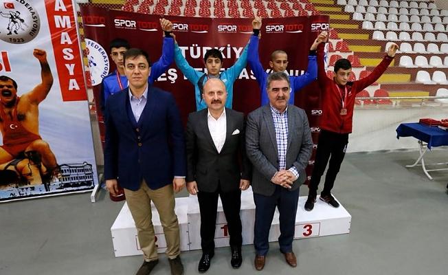 Yıldızlar Serbest Güreş Türkiye Şampiyonası İlimizde Gerçekleşti