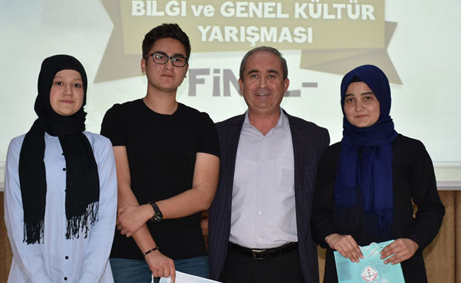 Bilgi ve Genel Kültür Yarışmasının Finali Nefes Kesti