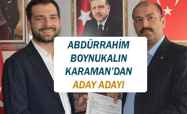 BOYNUKALIN ADAY ADAYI