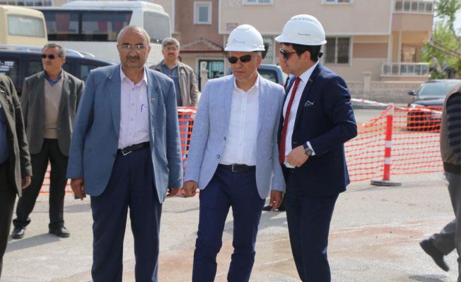ÇELTEK MAHALLESİ'NDE DOĞALGAZ TAMAMLANIYOR