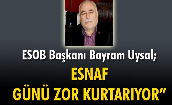 """""""KARAMAN'DA ESNAF GÜNÜ ZOR KURTARIYOR"""""""