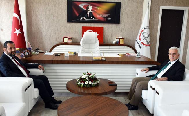 Rektör Akgül'den İl Müdürü Kuntoğlu'na Ziyaret