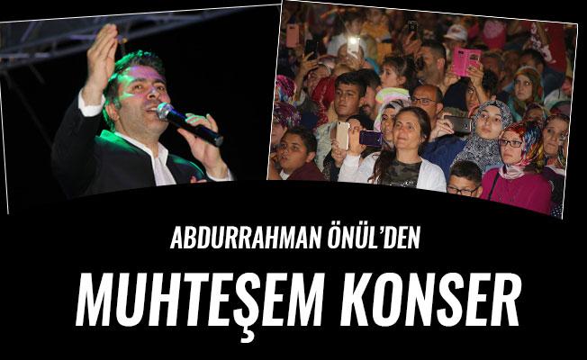 ABDURRAHMAN ÖNÜL'DEN MUHTEŞEM KONSER