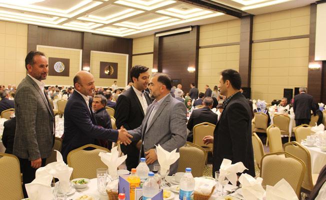 AK Parti Teşkilatı Muhtarlar ile birlikte iftar etti