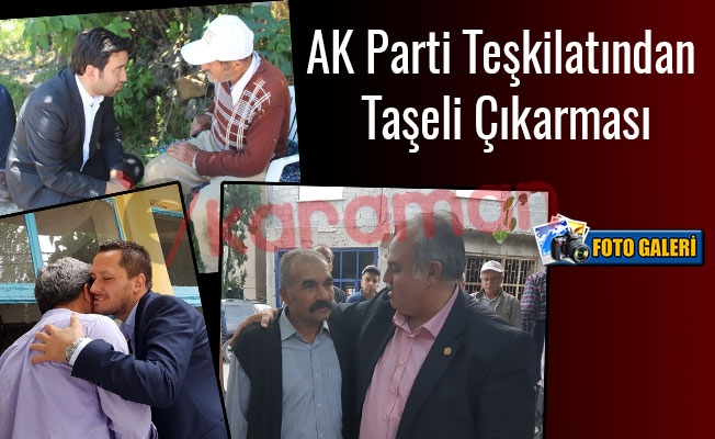 AK Parti Teşkilatından Taşeli Çıkarması
