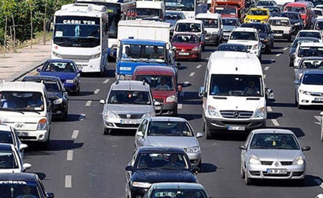 Karaman'da Motorlu Taşıt Sayısı Arttı. İşte Yeni Rakamlar...
