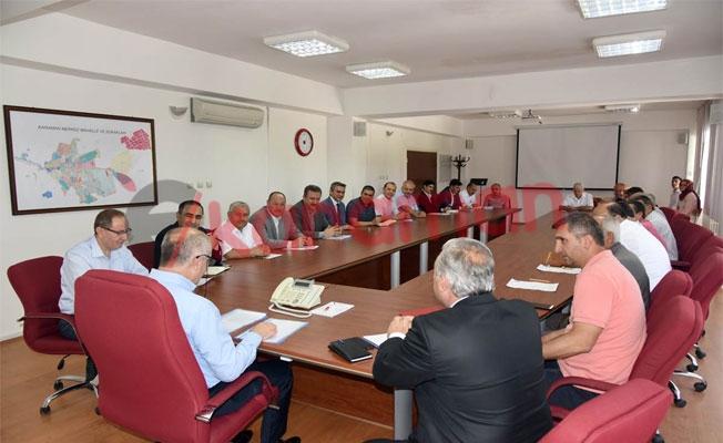 Muhtarlar Toplantısı Vali Meral Başkanlığında Yapıldı