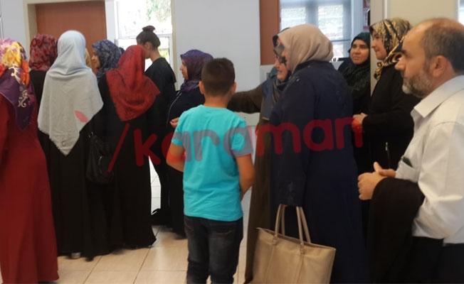 Saadet Partisi Karaman Teşkilatı Cumhurbaşkanı adayı Karamollaoğlu'na bağış