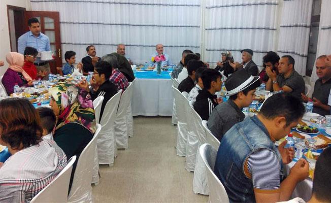 Vali Meral Özel Konuklarını İftar Yemeğinde Ağırladı