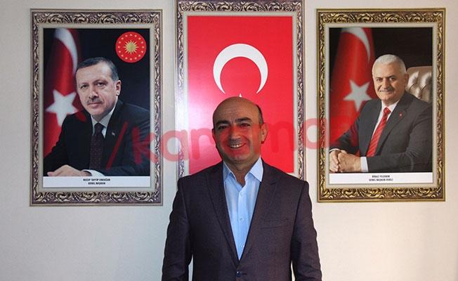 AK Parti Karaman Merkez İlçe Başkanı Mustafa ATABAY 15 Temmuz Dolayısıyla MesaJ Yayınladı