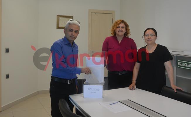 KTSO'DA SİGORTA ACENTELERİ DELEGE SEÇİMLERİ YAPILDI