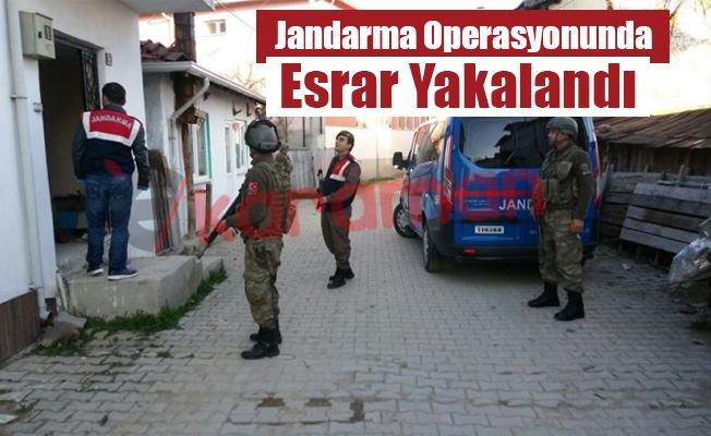 Jandarma Operasyonunda  Esrar Yakalandı...