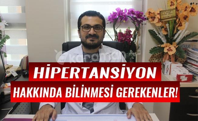 HİPERTANSİYON HAKKINDA BİLİNMESİ GEREKENLER!
