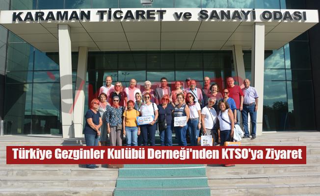 Türkiye Gezginler Kulübü Derneği'nden KTSO'ya Ziyaret