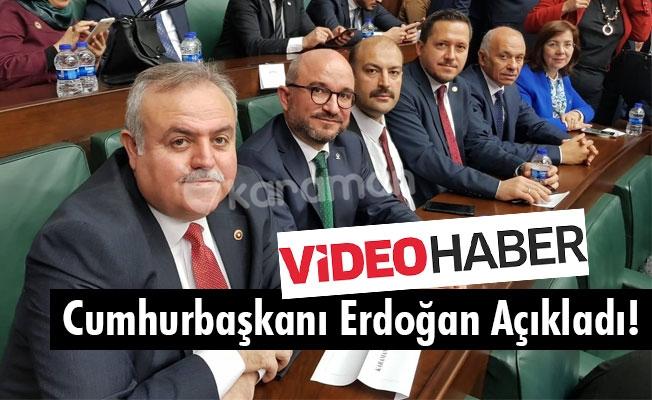 Cumhurbaşkanı Erdoğan Açıkladı!