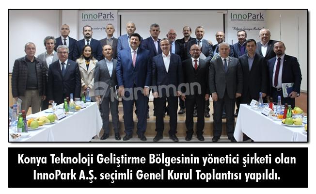 Konya Teknoloji Geliştirme Bölgesinin yönetici şirketi olan InnoPark A.Ş. seçimli Genel Kurul Toplantısı yapıldı.