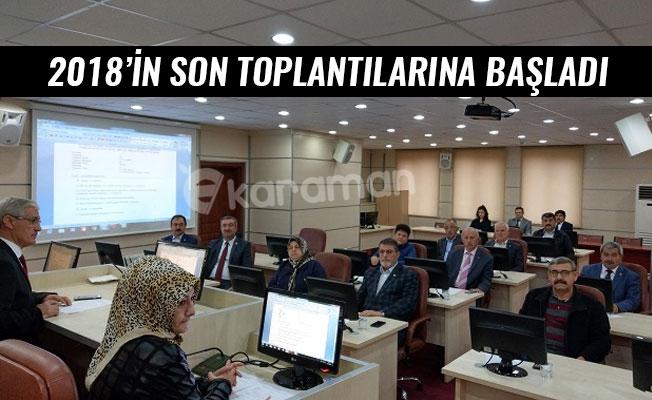 2018'İN SON TOPLANTILARINA BAŞLADI