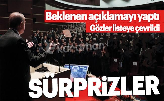 AK Parti 1 büyükşehir ve 13 il adayını açıkladı
