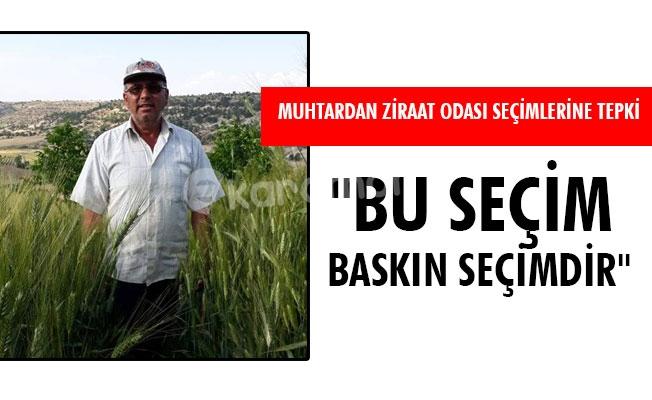 """""""BU SEÇİM BASKIN SEÇİMDİR"""""""