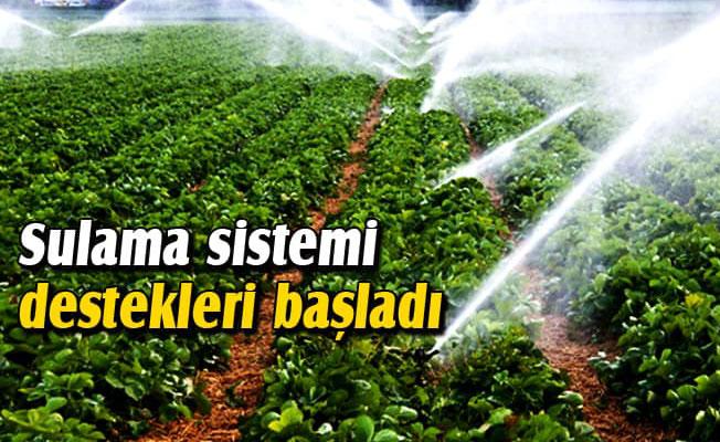 BİREYSEL SULAMA SİSTEMLERİ MÜRACAATLARI BAŞLADI.