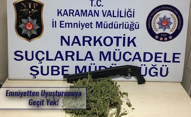 Emniyetten Uyuşturucuya Geçit Yok!