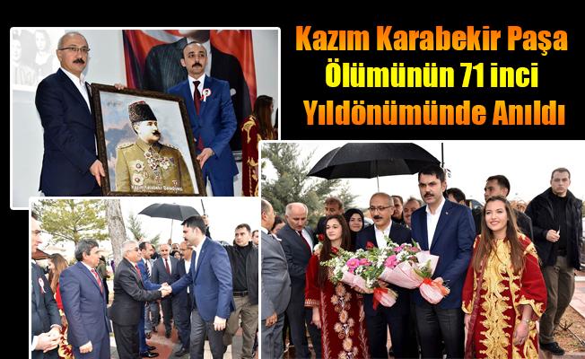 Kazım Karabekir Paşa Ölümünün 71 inci Yıldönümünde Anıldı