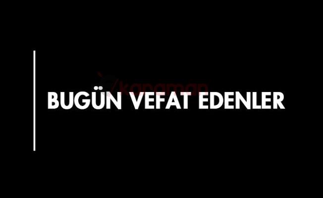 KARAMAN'DA BUGÜN VEFAT EDENLER - 14.02.2019