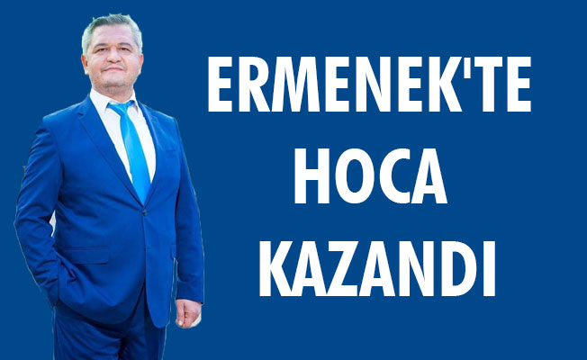 ERMENEK'TE HOCA KAZANDI