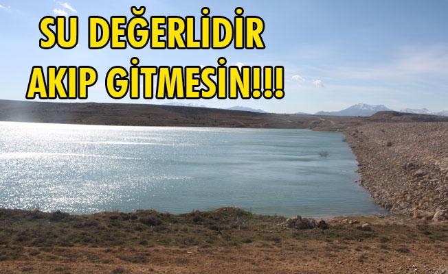 SU DEĞERLİDİR AKIP GİTMESİN!!!