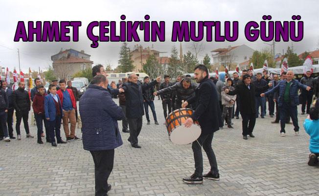 AHMET ÇELİK'İN MUTLU GÜNÜ