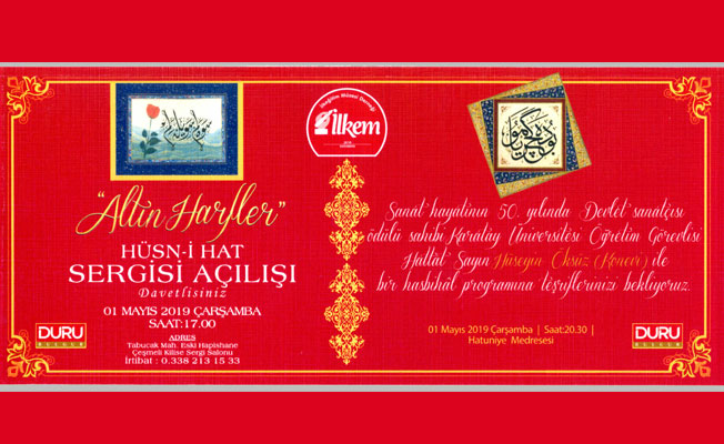 """""""ALTIN HARFLER"""" İN IŞIĞI KARAMANI BİR BAŞKA AYDINLATACAK"""