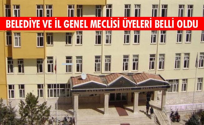 BELEDİYE VE İL GENEL MECLİSİ ÜYELERİ BELLİ OLDU