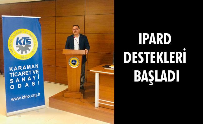 IPARD DESTEKLERİ BAŞLADI