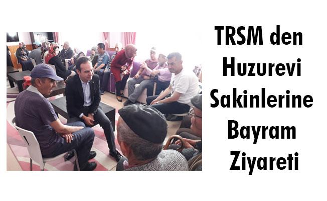 TRSM den Huzurevi Sakinlerine Bayram Ziyareti