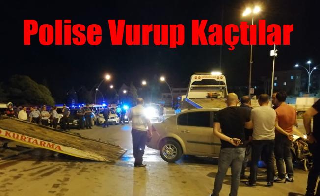 Polise vurup Kaçtılar