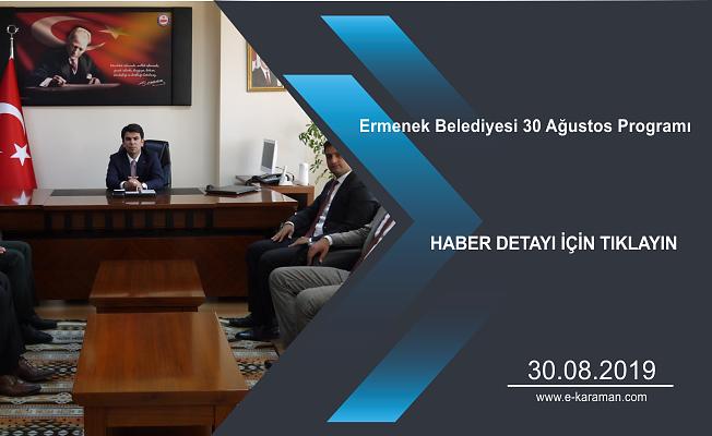 Ermenek Belediyesi 30 Ağustos Programı