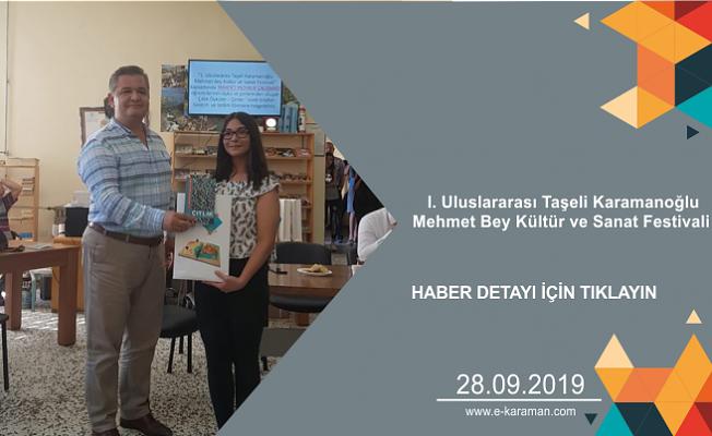 I. Uluslararası Taşeli Karamanoğlu Mehmet Bey Kültür ve Sanat Festivali