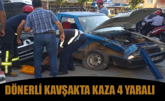 KENTTE TRAFİK KAZASI