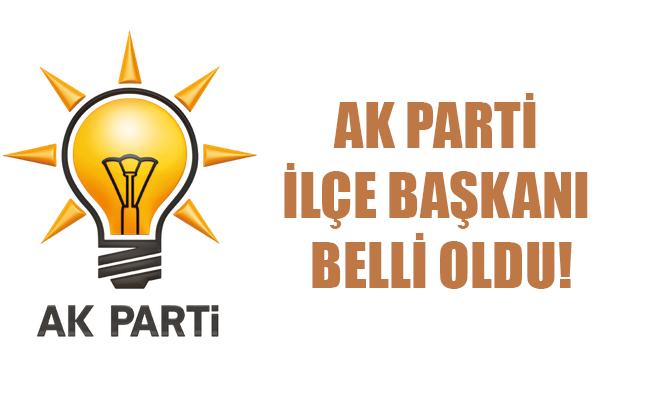 Ak Parti Karaman'da Yeni Mekez İlçe Başkanını belirledi.