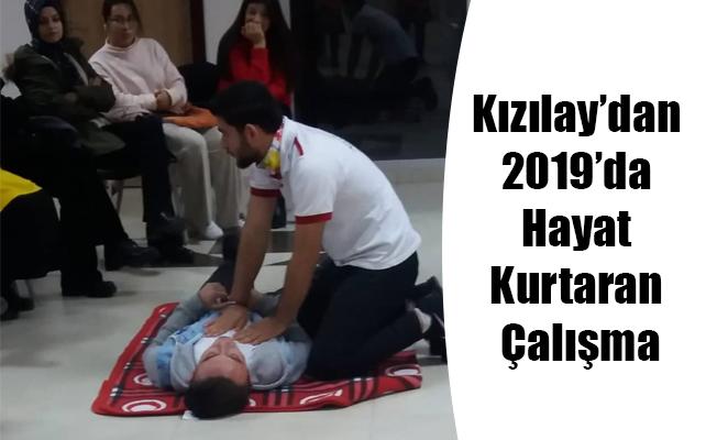 Kızılay'dan 2019'da Hayat Kurtaran Çalışma